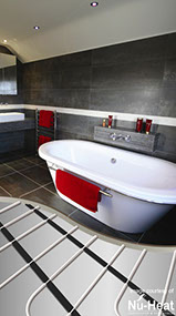 full bathroom design installation tiling underfloor heating